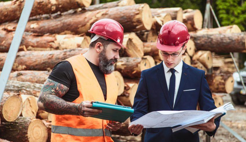 inspección en una construcción