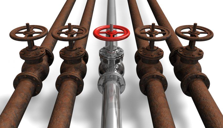 corrosión en tuberías